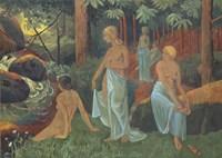 Bathers With White Veils Fine-Art Print