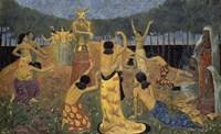 The Daughters Of Pelichtim, 1908 Fine-Art Print