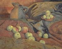 Still Life: Apples And Pitcher, 1912 Fine-Art Print