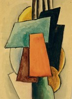 Study For Painterly Architectonis, 1916 Fine-Art Print