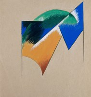 Page With A Composition II, 1921 Fine-Art Print