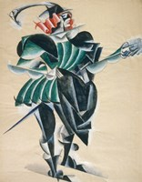 Romeo In A Mask, 1920 Fine-Art Print