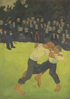 Breton Wrestler,  1891-1892 Fine-Art Print