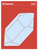 Montague State Posters - Arkansas Fine-Art Print
