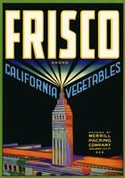 Frisco Brand California Vegetables Fine-Art Print