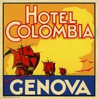 Hotel Colombia, Genova Fine-Art Print