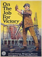 On the Job for Victory Fine-Art Print
