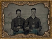 Civil War Brothers in Arms Fine-Art Print
