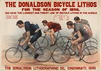 Donaldson Bicycle Lithos for 1896 Season Fine-Art Print