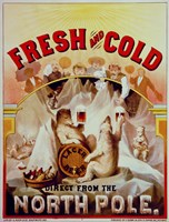Fresh and Cold--Direct from the North Pole Fine-Art Print