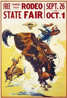 Rodeo State Fair Roan Fine-Art Print