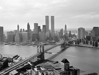Brooklyn Bridge and World Trade Center, Lower Manhattan Fine-Art Print