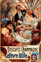 Biscuits Champagne Lefevre-Utile Fine-Art Print