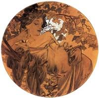 Autumn Medallion Fine-Art Print