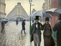 Caillebotte, Paris Street, A Rainy Day Fine-Art Print