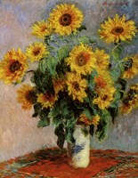 Bouquet of Sunflowers Fine-Art Print