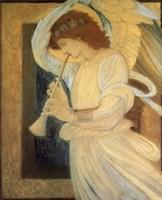 Angel With Shofar Fine-Art Print