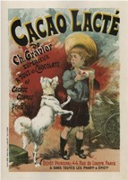 Cacao Lacte France Fine-Art Print