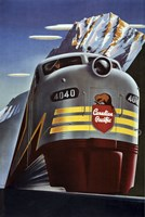 Canadian Pacific Train Fine-Art Print