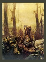 Mural Forest Marines Fine-Art Print