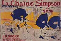 La Chaine Simpson Fine-Art Print