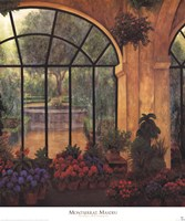 Arches & Flowers Fine-Art Print