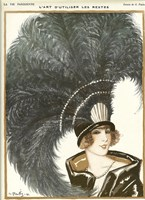 Lavie Parisienne Featherhat Fine-Art Print