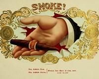 Smoke Cig Fine-Art Print