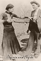 Bonnie And Clyde I Fine-Art Print
