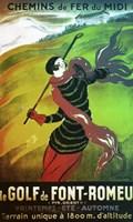 Le Golf de Font Romeau Fine-Art Print