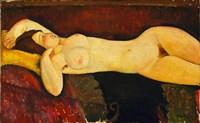 Reclining Nude Arch Fine-Art Print