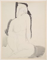 Seated Nude Fine-Art Print