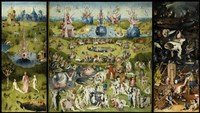 Bosch - Garden Of Earthly Delights Fine-Art Print
