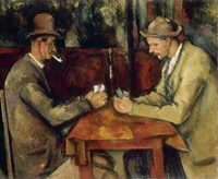 The Card Players Fine-Art Print