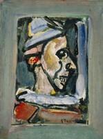 Profile Of A Clown Fine-Art Print