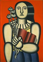 Woman with a Book Fine-Art Print