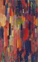 Mme Kupka among Verticals Fine-Art Print