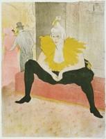 La Clownesse Assise From Elles Fine-Art Print