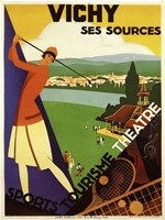 Vichy Ses Sources Fine-Art Print