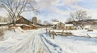 Mid-January Farmscape Fine-Art Print