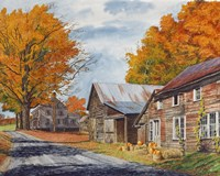 October Country Drive Fine-Art Print