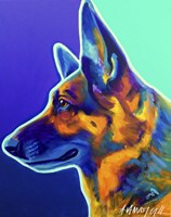 German Shepherd Schatze Fine-Art Print