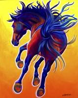 Horse Kick Up Your Heels Fine-Art Print