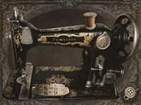Vintage Sewing Machine Fine-Art Print