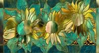 Verdigris Sunflower Fine-Art Print