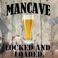 Mancave III Fine-Art Print