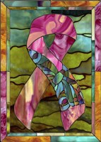 Breast Cancer Ribbon Fine-Art Print