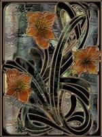 Art Nouveau Parabolas Fine-Art Print