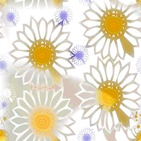 Playful Daisies Fine-Art Print