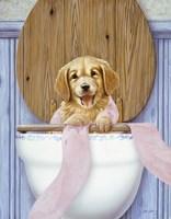 Toilet Mischief Fine-Art Print
